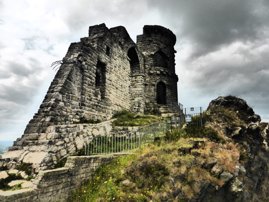 Romantic Guide Cheshire Mow Cop Castle