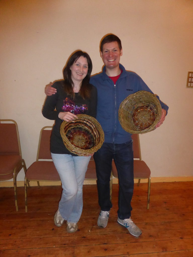 Romantic Staffordshire Moorlands Basket Weaving Foxt Village Hall