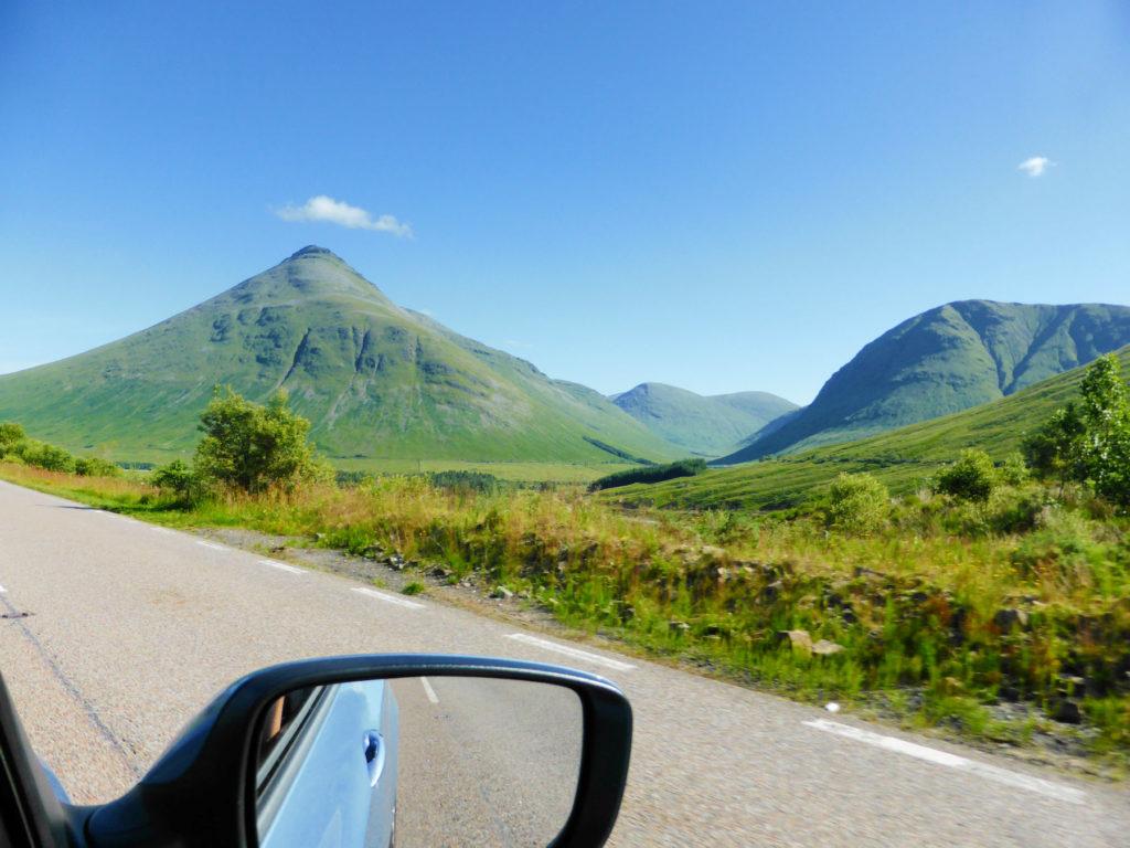 Romantic Car Picnic A82 Scotland Best Driving Roads in the World