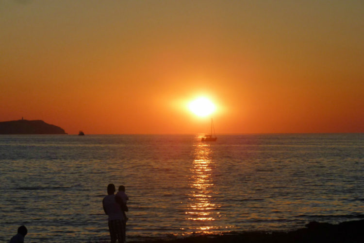 Amazing Ibiza Sunset Photos