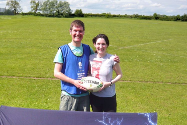 Romantic Guide Cheshire Touch Rugby