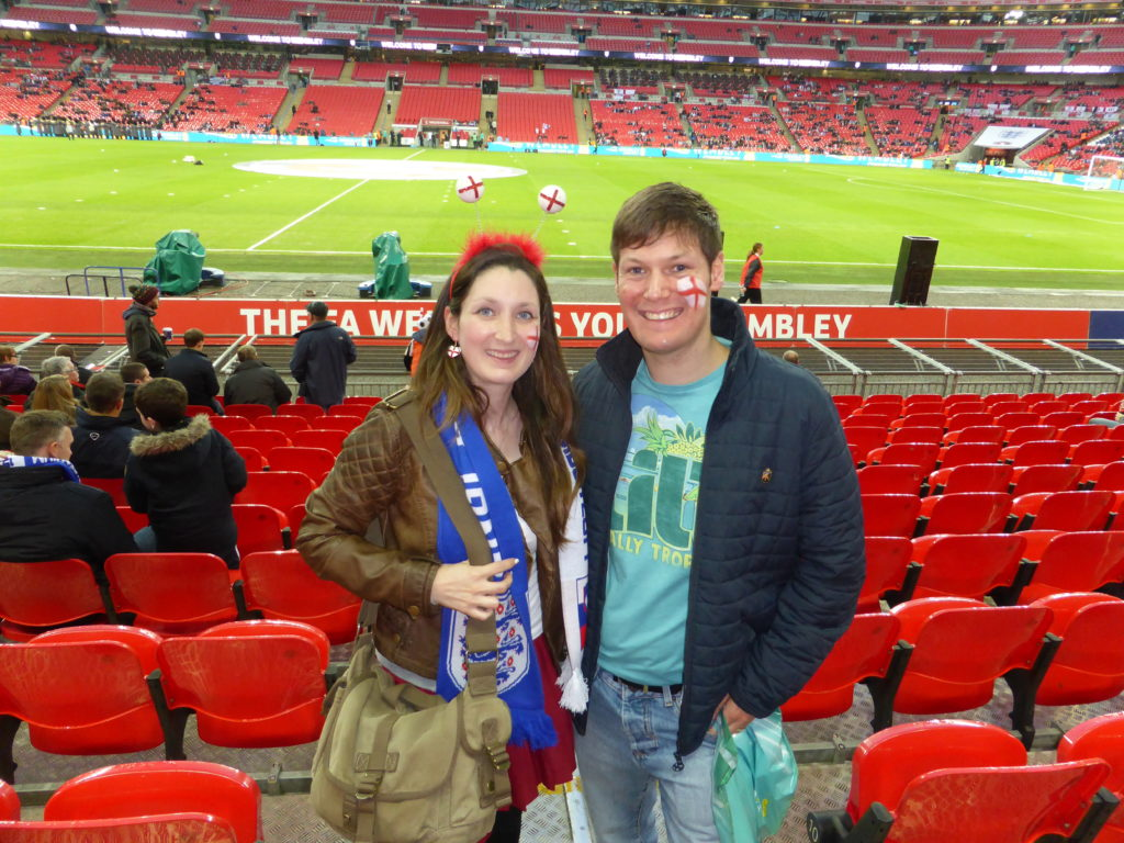 Romantic North West London Wembley Stadium