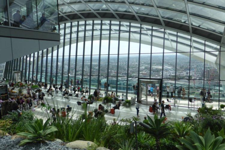 Romantic City of London Sky Garden