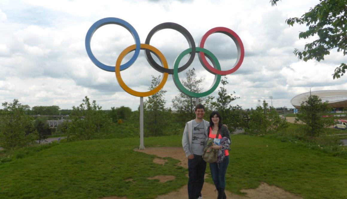 Queen Elizabeth Olympic Park Rings