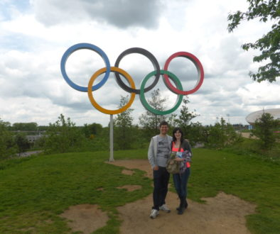 Queen Elizabeth Olympic Park Rings