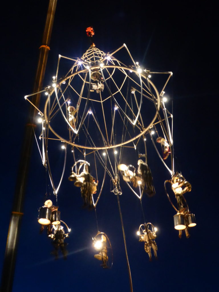 Romantic Stoke-on-Trent Appetite Enchanted Chandelier