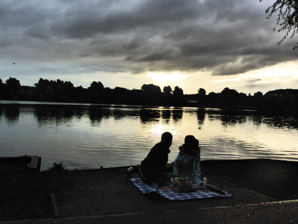 Romantic Stoke-on-Trent Westport Lake Sunrise
