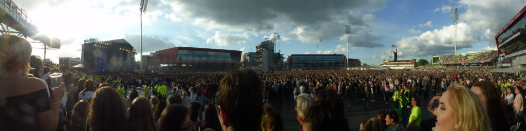 One Love Manchester Panorama