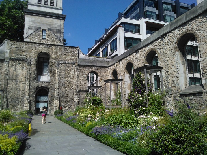 Christian Heritage Tour London Christ Church Greyfriars