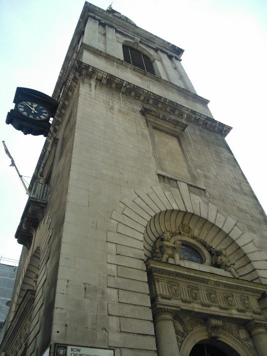 Christian Heritage Tour London St. Mary Le Bow Church