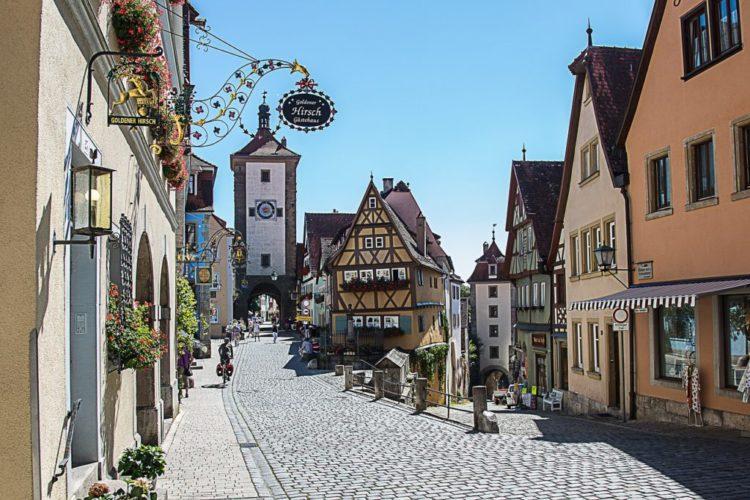 Best Romantic Walks World Rothenburg