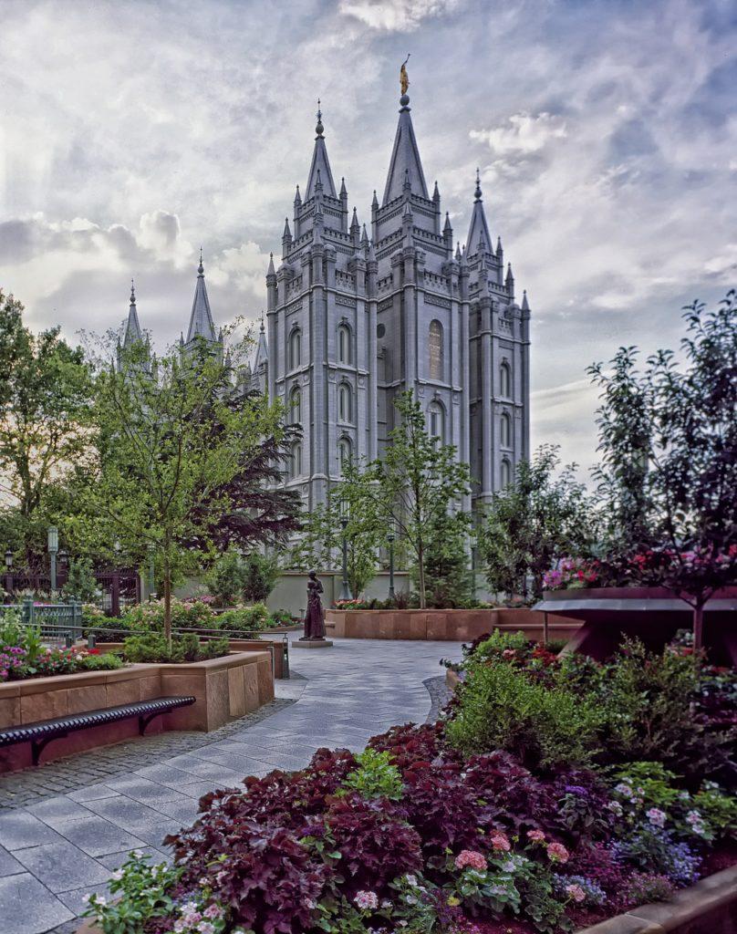 Christian Sites Temple Square Salt Lake City