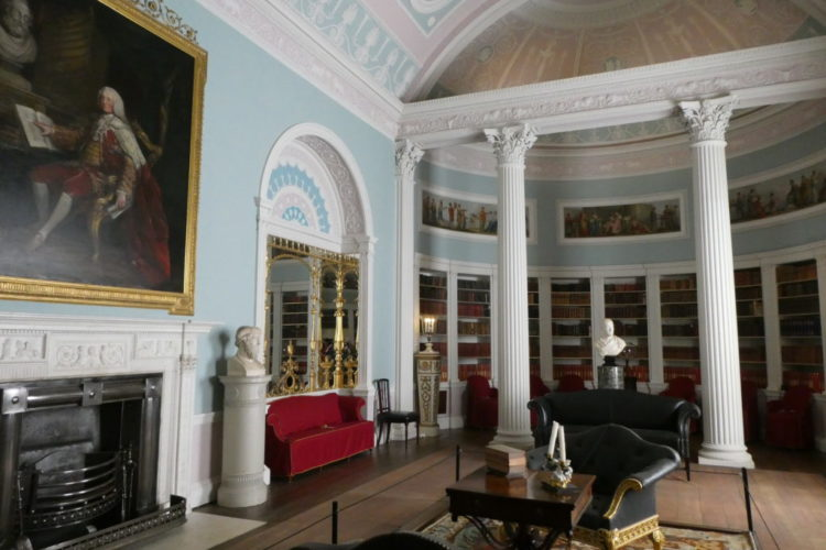 Kenwood House Hampstead Heath London Library