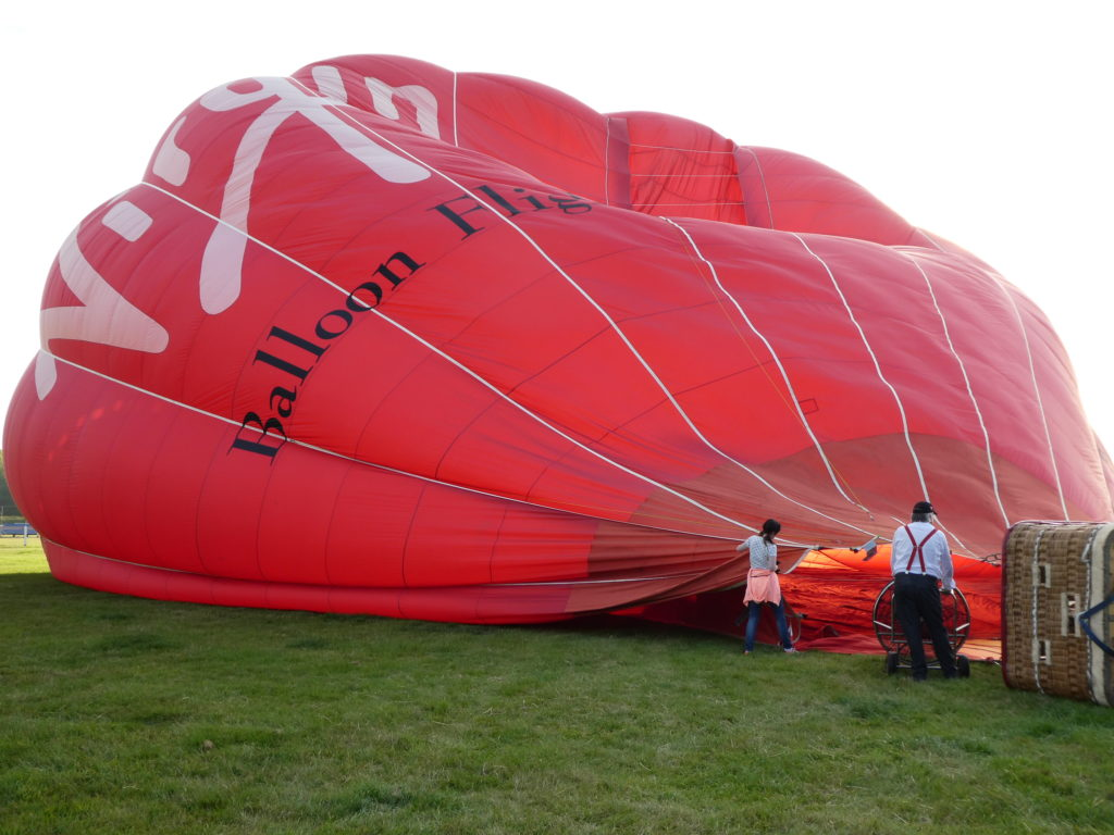 Virgin Hot Air Balloon Ride Staffordshire