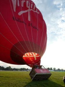 Virgin Hot Air Balloon Ride Staffordshire