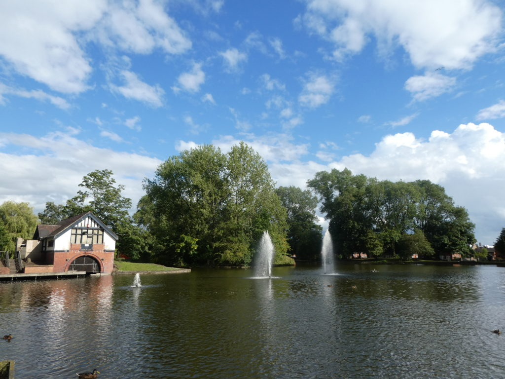 Hanley Park Lake and Boat House