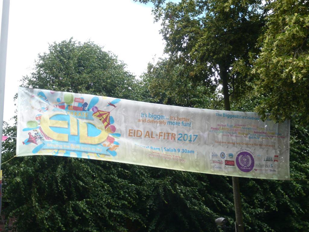 Eid al-Fitr Small Heath Park Birmingham