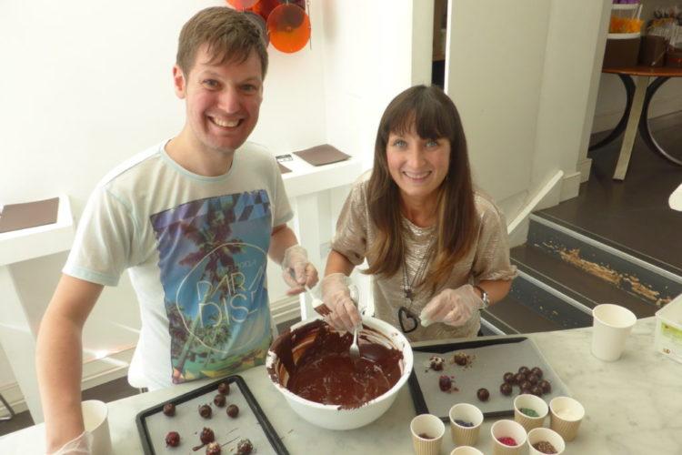 Romantic West London Melt Chocolates