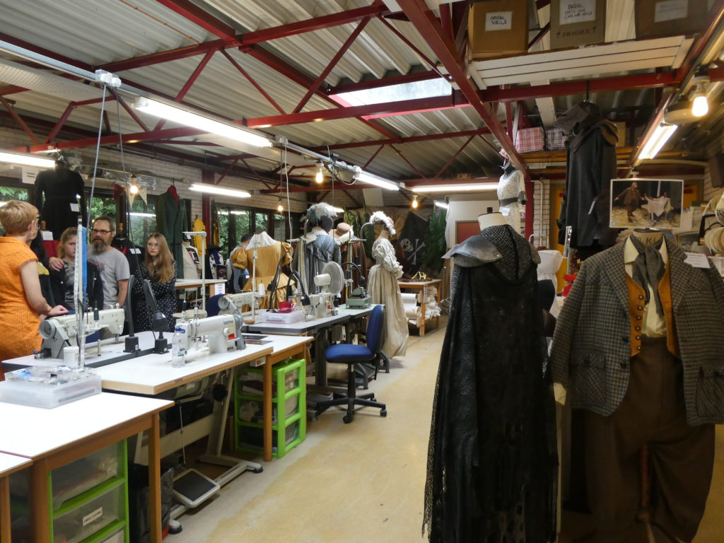 New Vic Theatre Newcastle-under-Lyme Open Day Costume