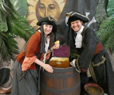 New Vic Theatre Newcastle-under-Lyme Open Day Costume Treasure Island