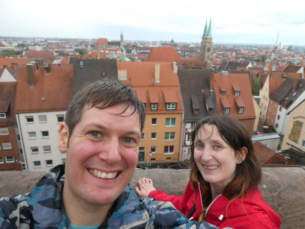 View from Nuremberg Castle