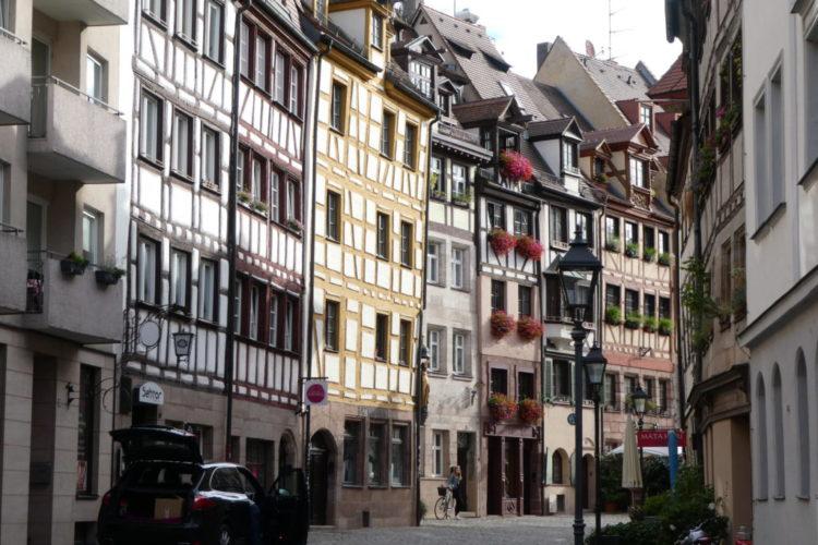 Nuremberg Germany - Weissgerbergasse