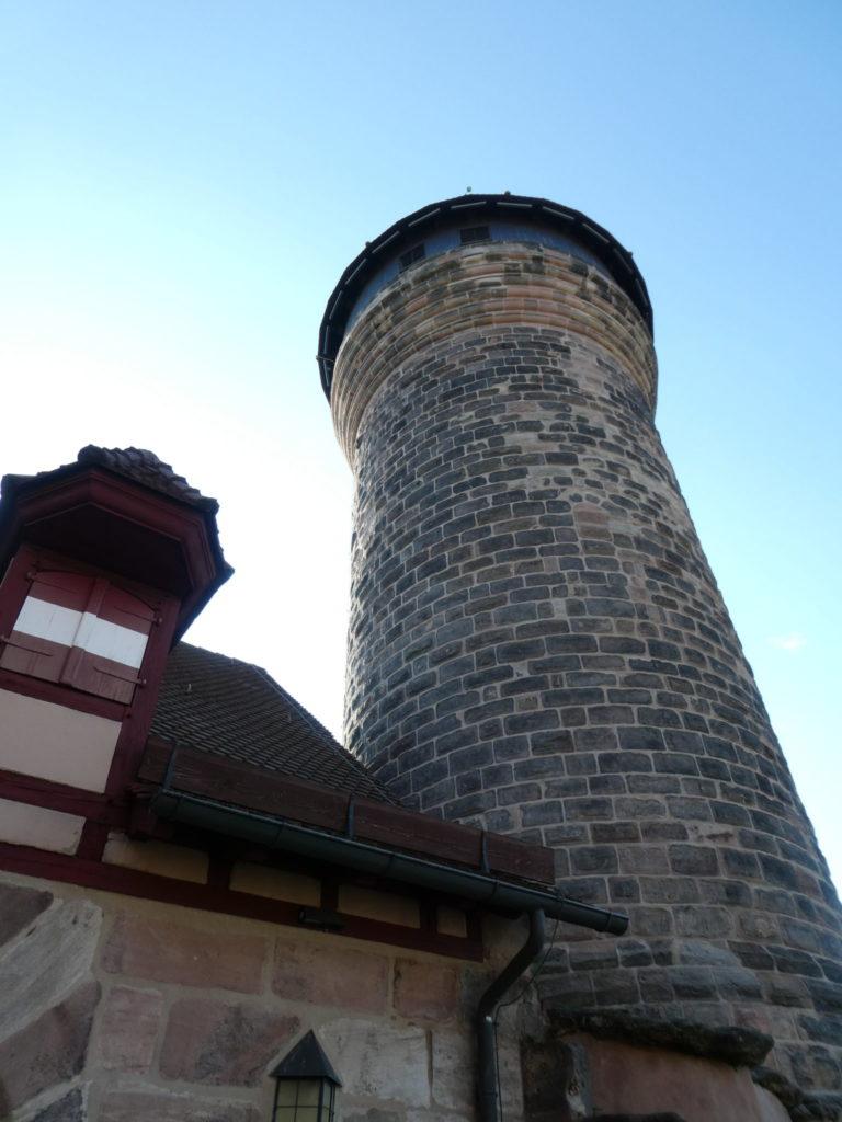 Nuremberg Castle Sidwell Tower - Nuremberg Germany