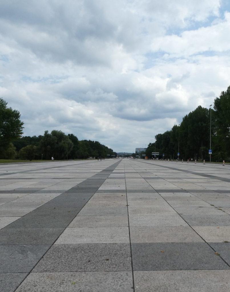 Nazi Party Rally Grounds Great Street - Nuremberg Germany