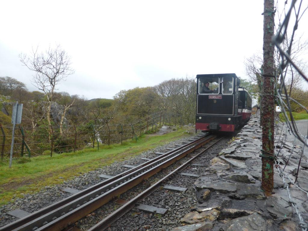 Llanberis Waterfall Snowdon Mountain Railway