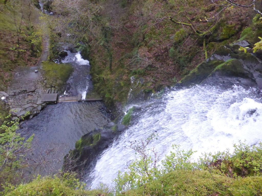 Llanberis Waterfall