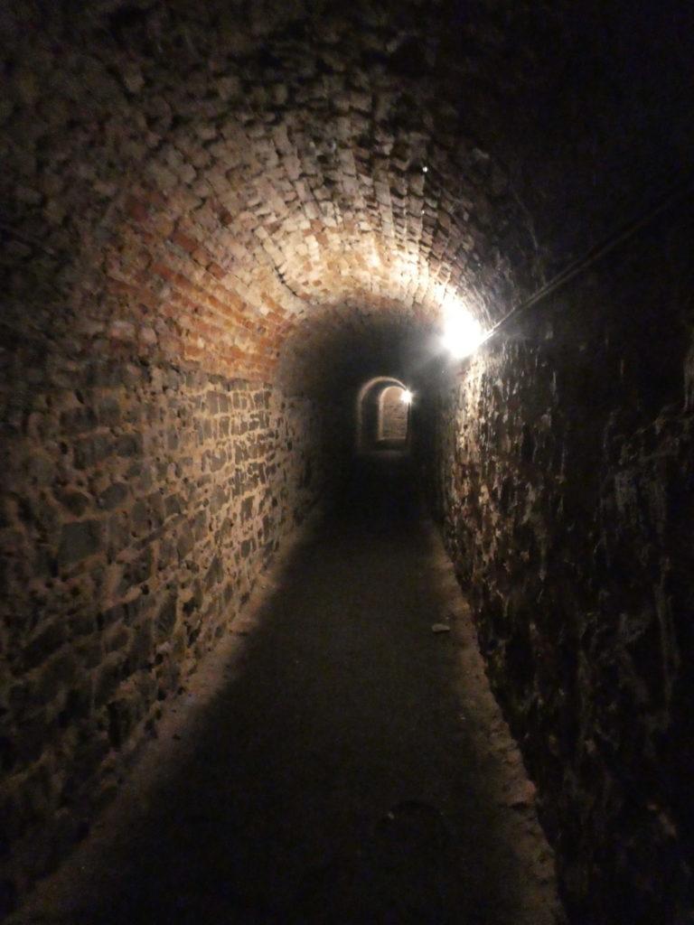 Vysehrad Prague Czech Republic - Casemates Tunnels
