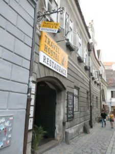 Cesky Krumlov Czech Republic - Travel Hostel Restaurant