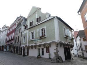 Cesky Krumlov Czech Republic - Latran House