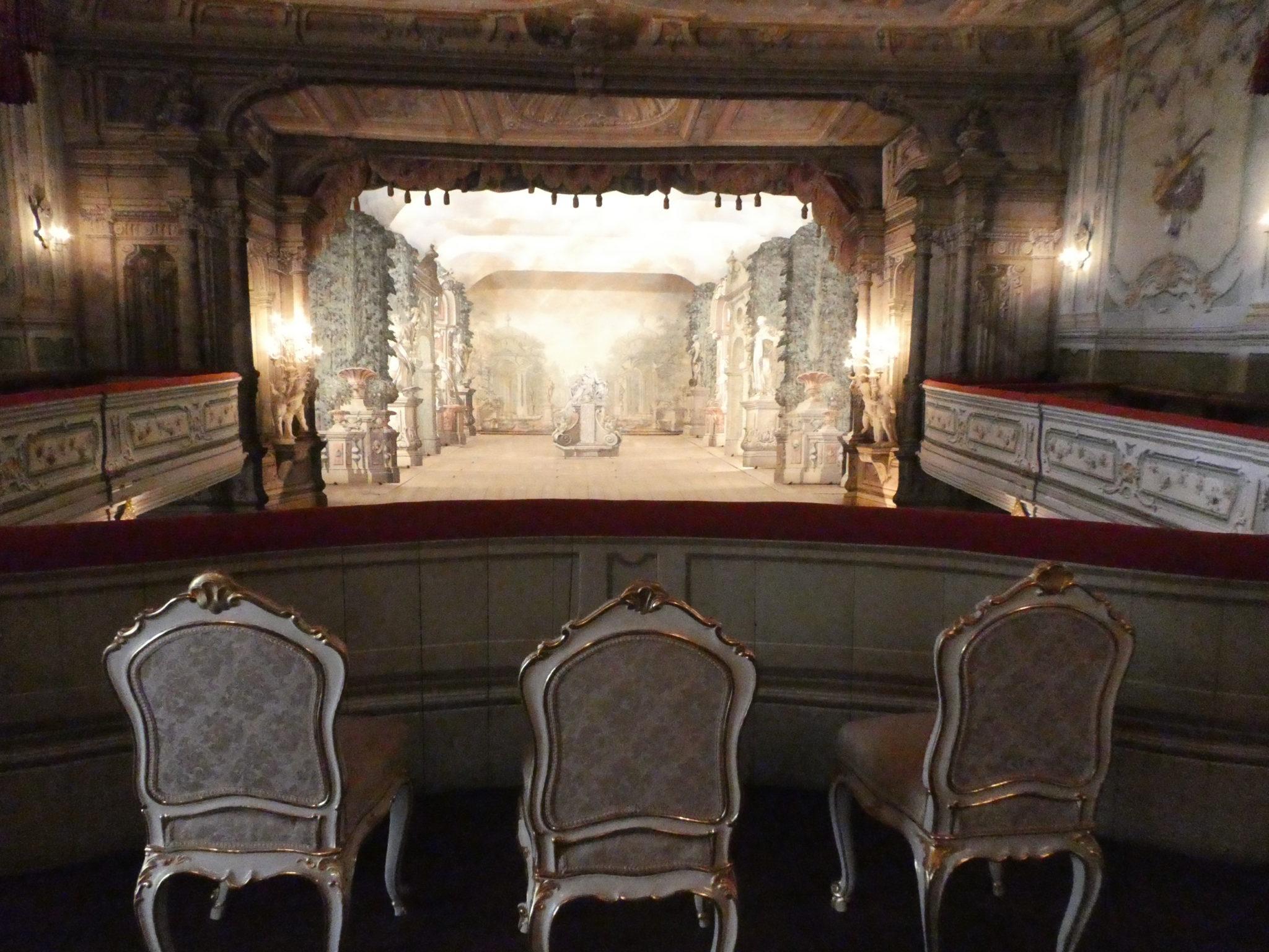 Cesky Krumlov Castle Theatre Royal Box