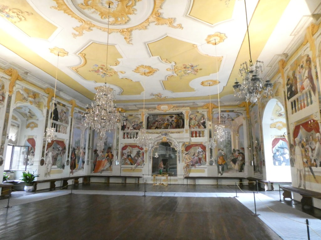 Cesky Krumlov Czech Republic - Castle Masquerade Hall