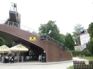 Cesky Krumlov Czech Republic - Revolving Theatre