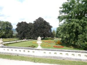 Cesky Krumlov Czech Republic - Castle Garden