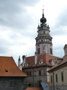 Cesky Krumlov Czech Republic - Castle Tower