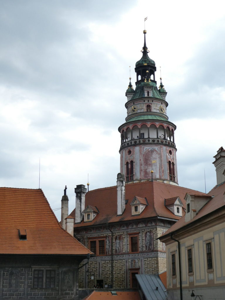 Cesky Krumlov Czech Republic - Castle Tower