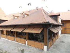 Cesky Krumlov Czech Republic - Castle Smithery