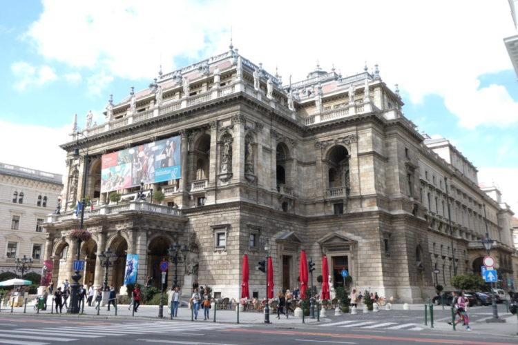 Andrassy Avenue Budapest State Opera House