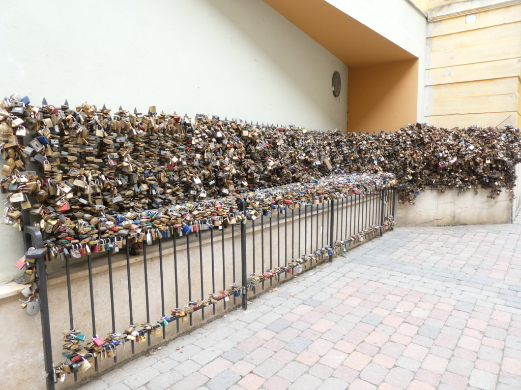Pecs Hungary - Love Locks