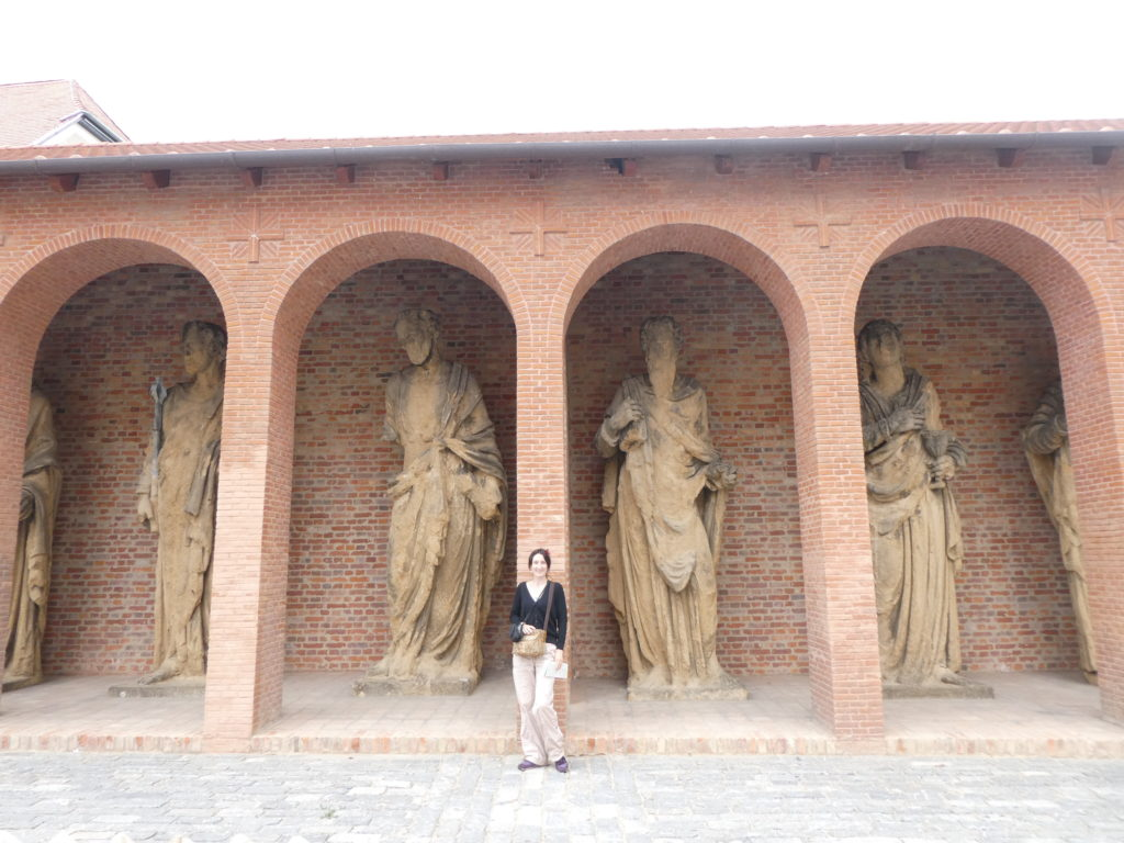 Pecs Cathedral Hungary - Twelve Apostles Statues