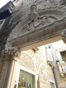 Split Croatia - Family Crest on Doorway