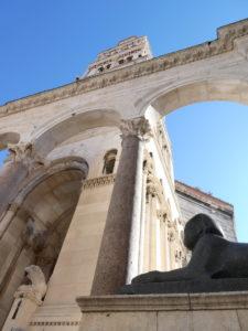 Split Croatia - Diocletian's Palace Egyptian Sphinx