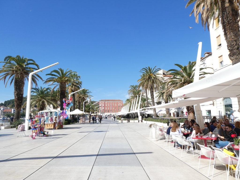 Split Croatia - The Riva Promenade