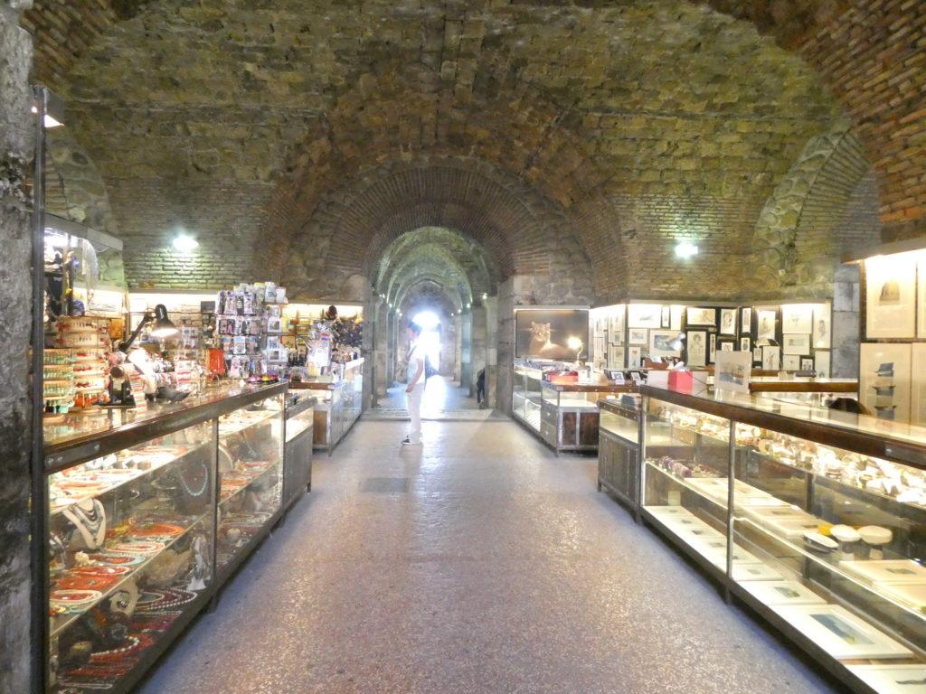 Split Croatia - Diocletian's Palace Basement Cellars