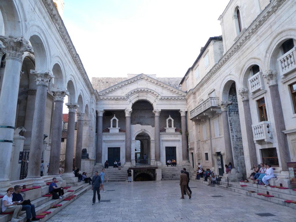 Split Croatia - Diocletian's Palace Peristyle