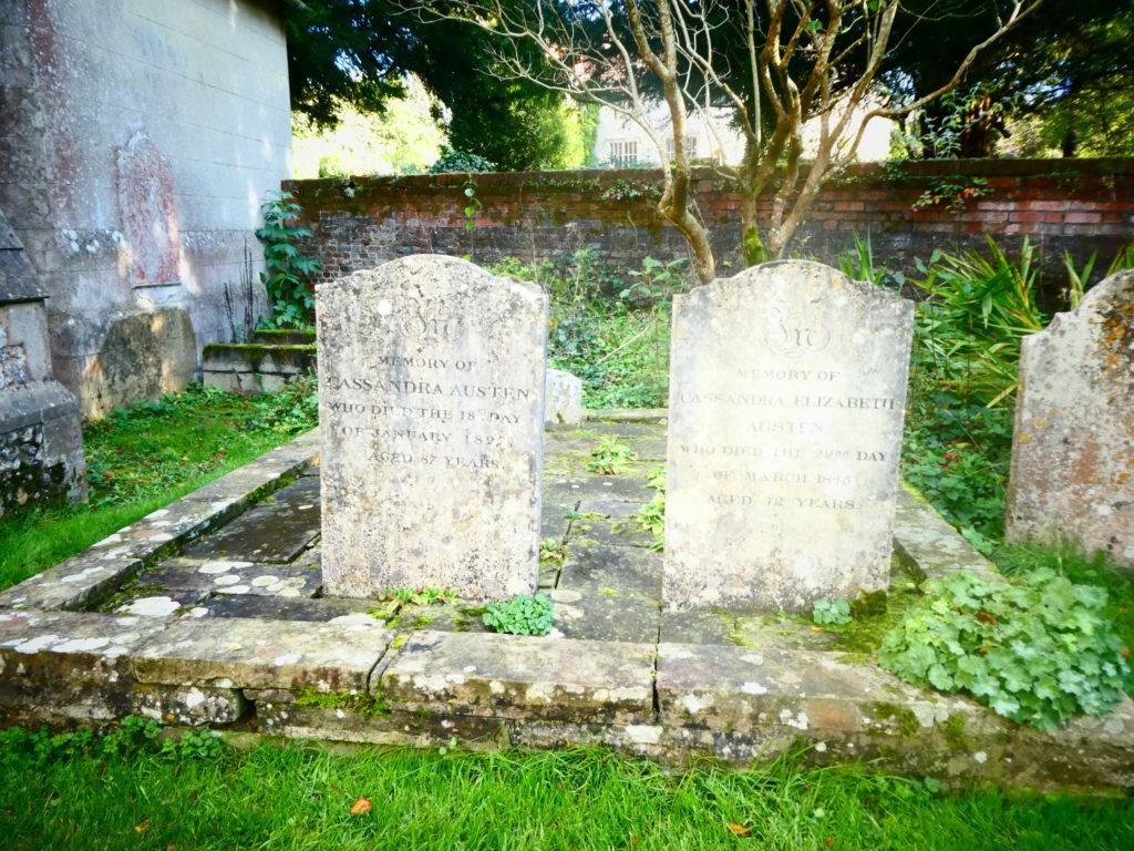 St Nicholas Church Alton Hampshire Jane Austen - Mother and Cassandra's Grave