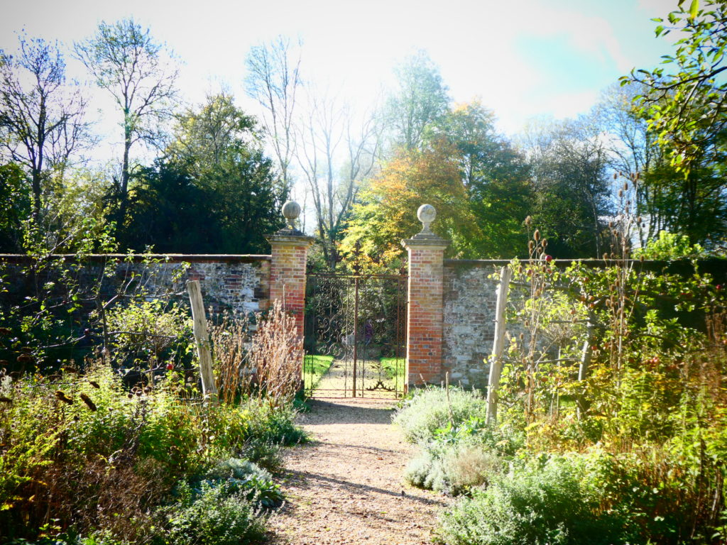 Chawton House Library Alton Hampshire Jane Austen - Herb Garden